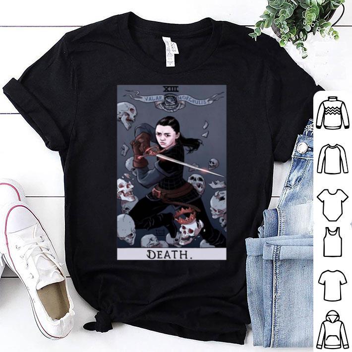 Game Of Thrones Arya Stark Death shirt
