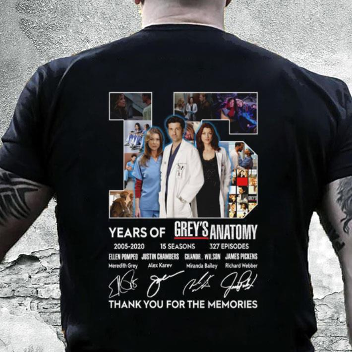 Grey\'S Anatomy Schedule 2020 15 years of Grey's Anatomy 2005 2020 thank you for the memories
