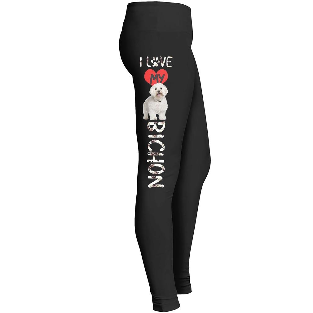 I love my Bichon Frise dog leggings