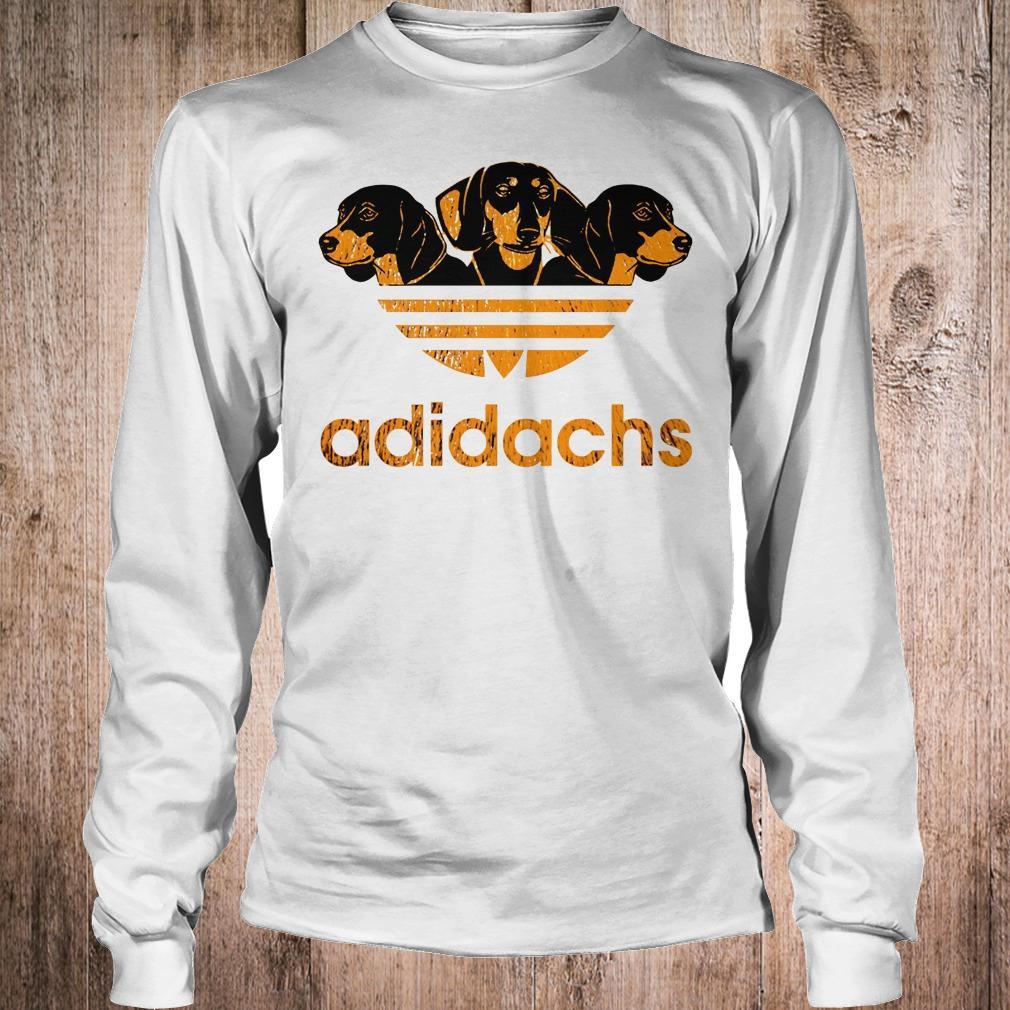 AdiDachshund Adidas mashup Dachshund shirt Longsleeve Tee Unisex