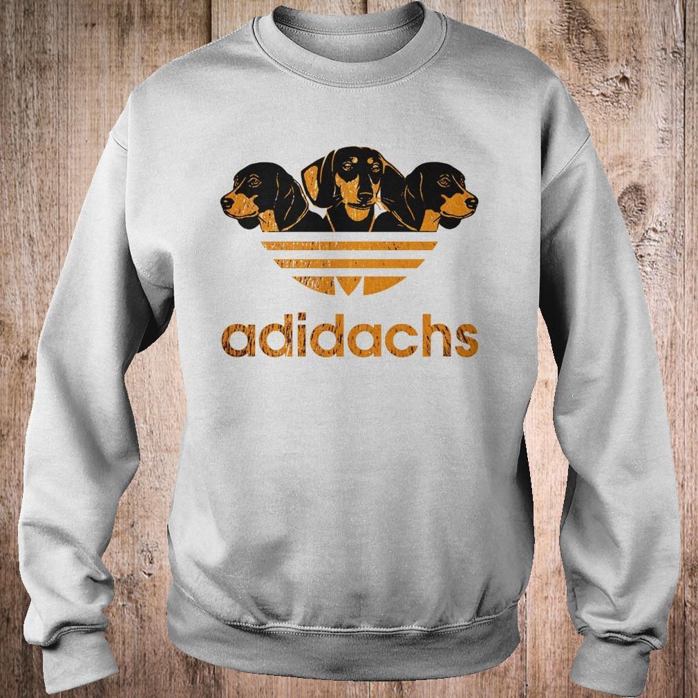 AdiDachshund Adidas mashup Dachshund shirt