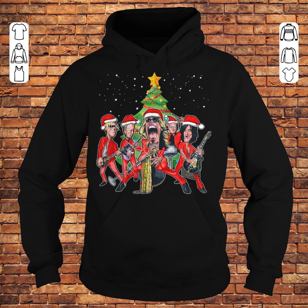 Aerosmith Caricature Christmas Tree shirt