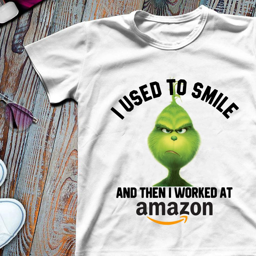 Yum china Grinch I used to smile and then I worked at Yum china shirt