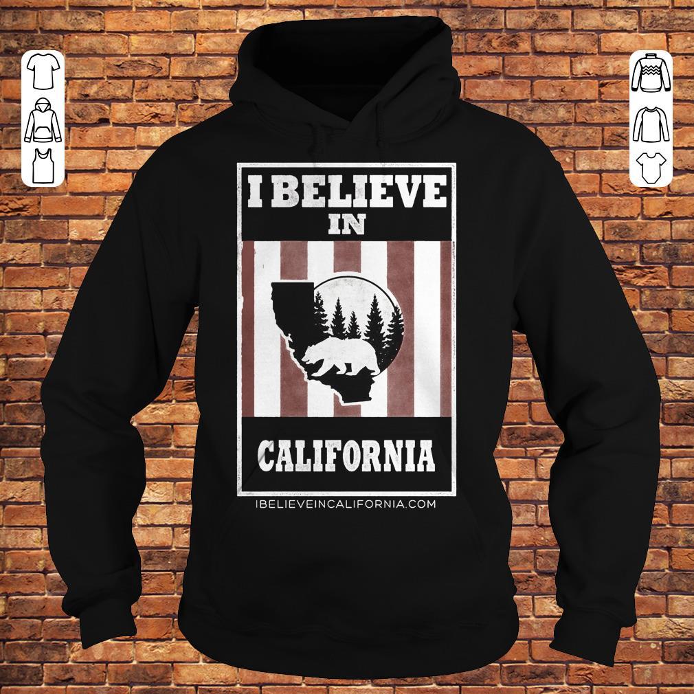 Bear I believe in California wildfires Shirt Hoodie