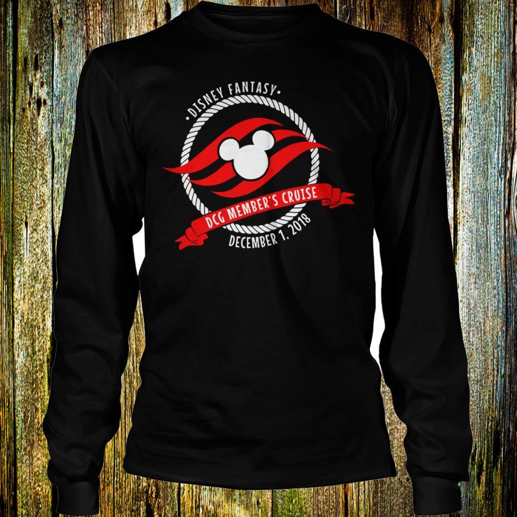 Best price Disney fantasy Mickey DCG Member's Cruise shirt Longsleeve Tee Unisex