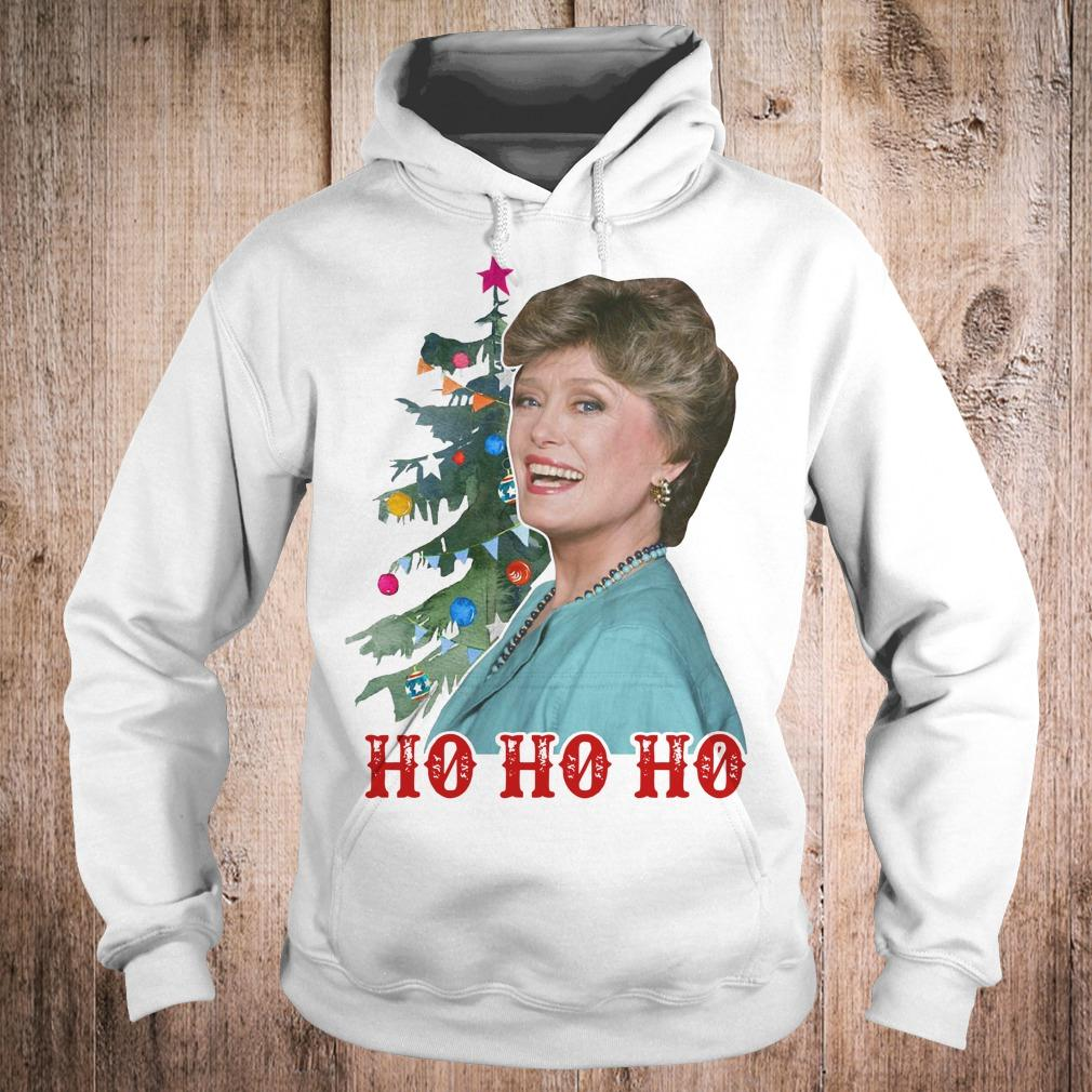 Blanche Golden Girls Ho ho ho Merry Christmas shirt Hoodie