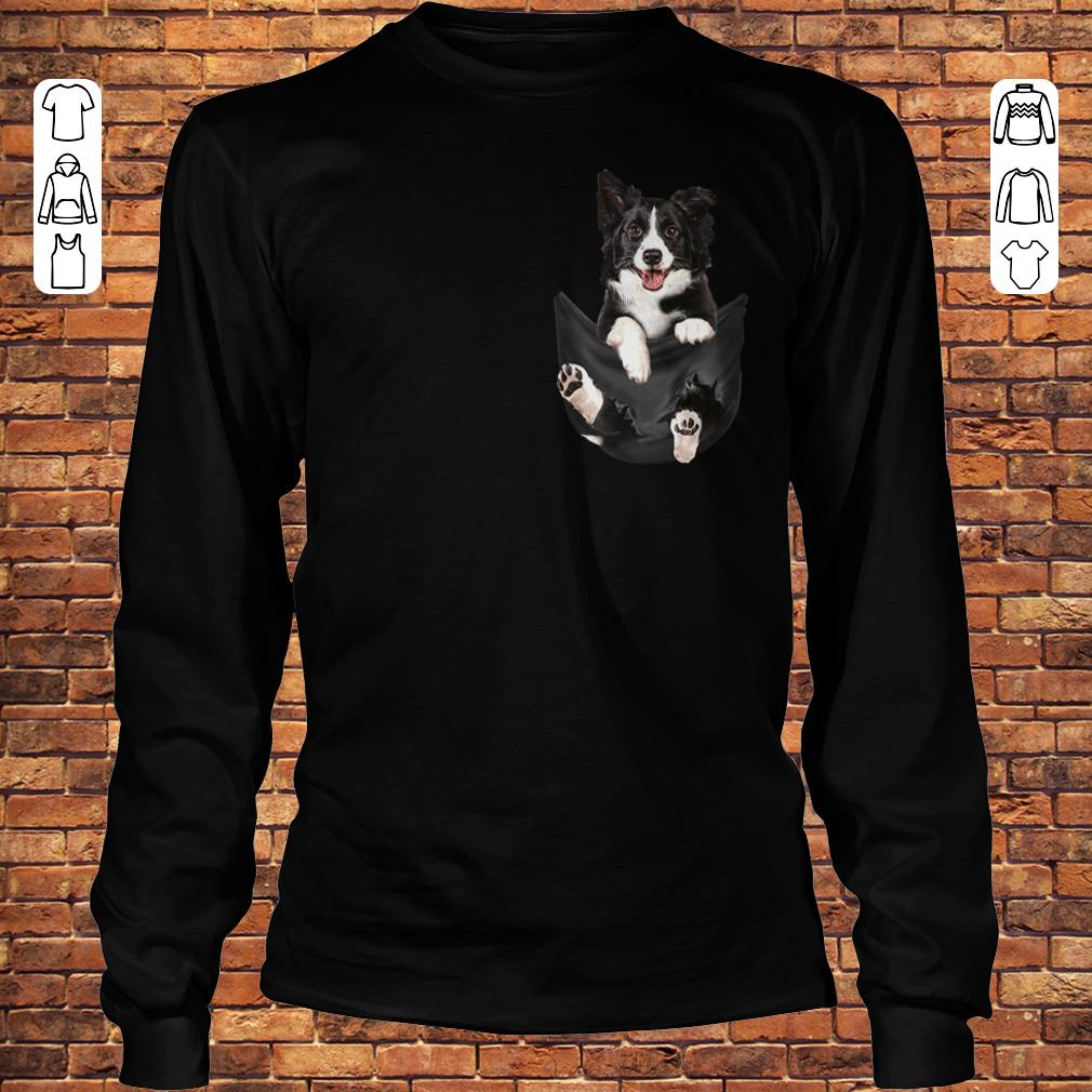 Border-Collie Tiny Pocket shirt
