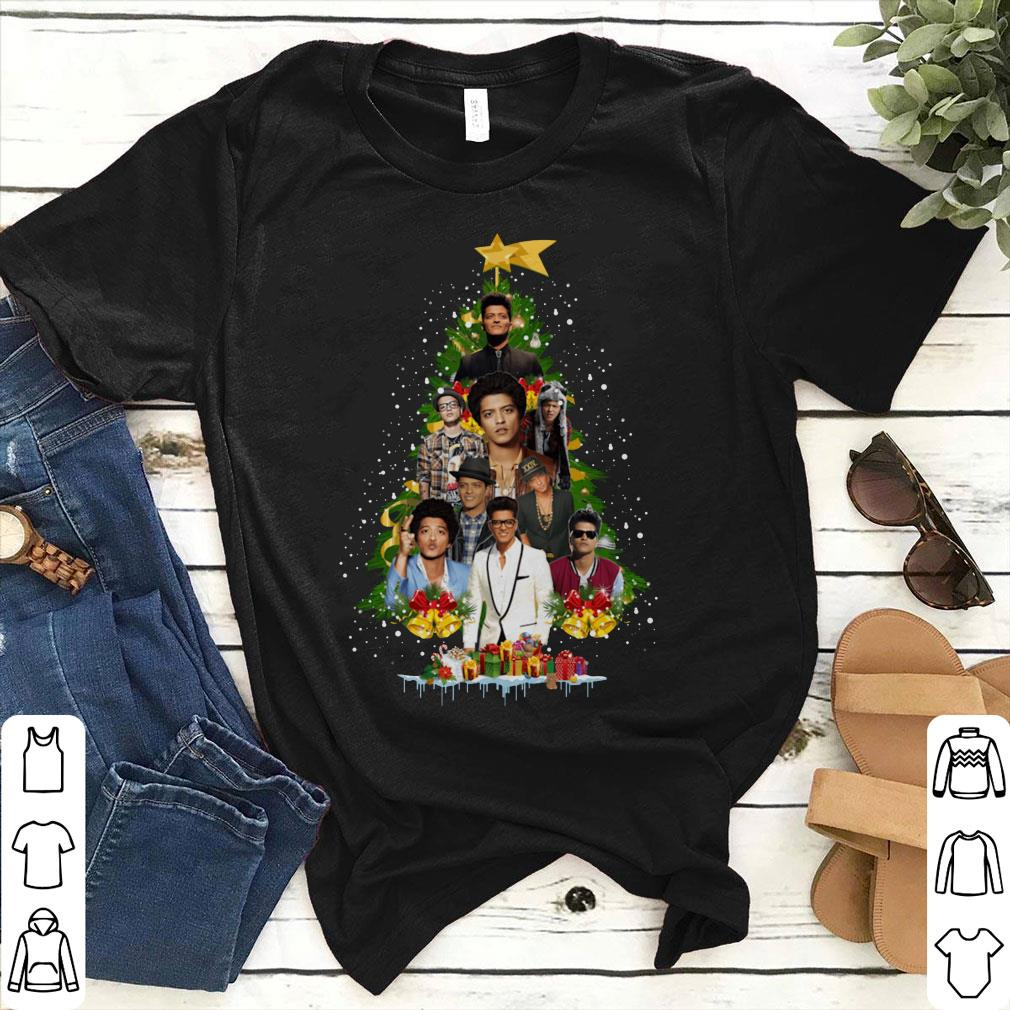 Bruno Mars Christmas tree shirt