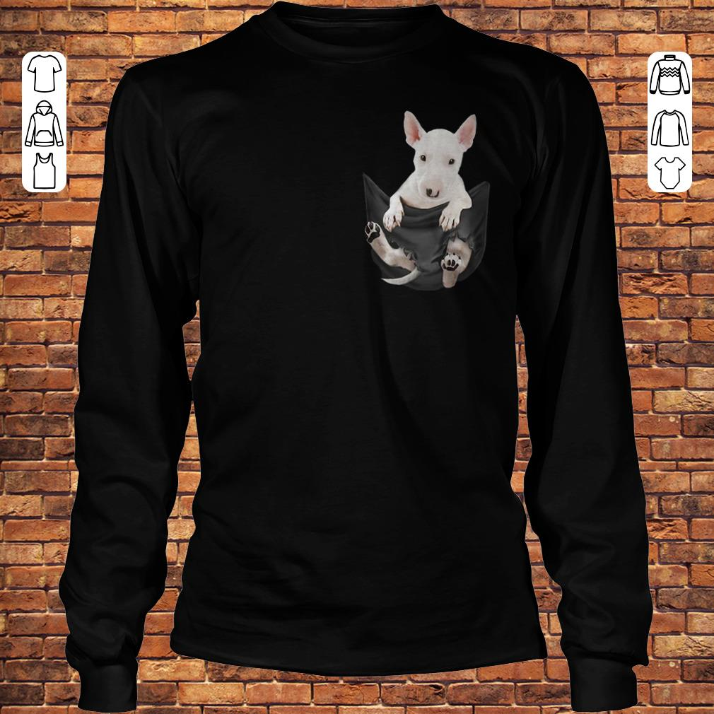Bull Terrier Tiny Pocket shirt