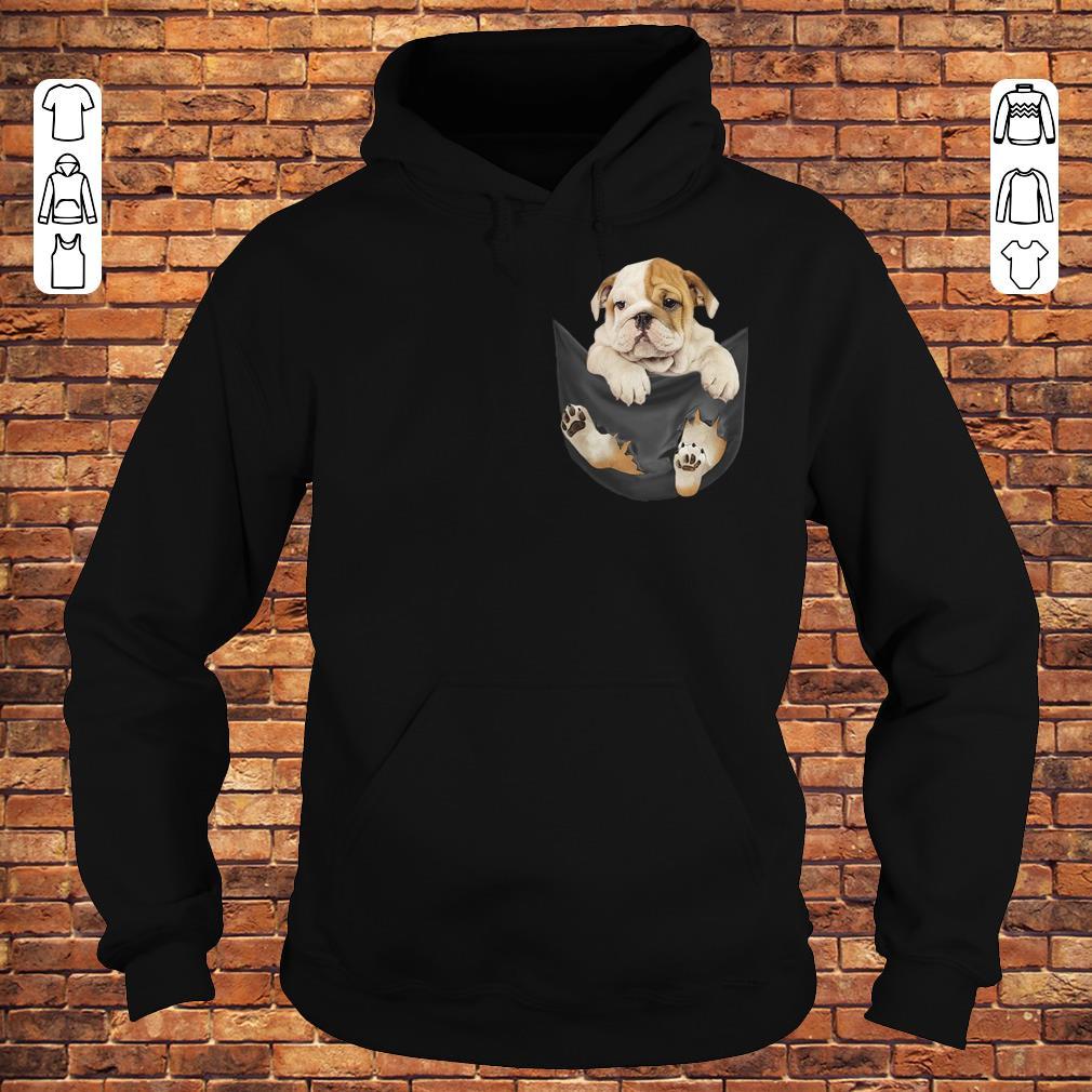 Bulldog Tiny Pocket shirt Hoodie
