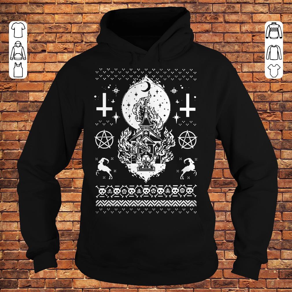 Burning Church Sweater shirt
