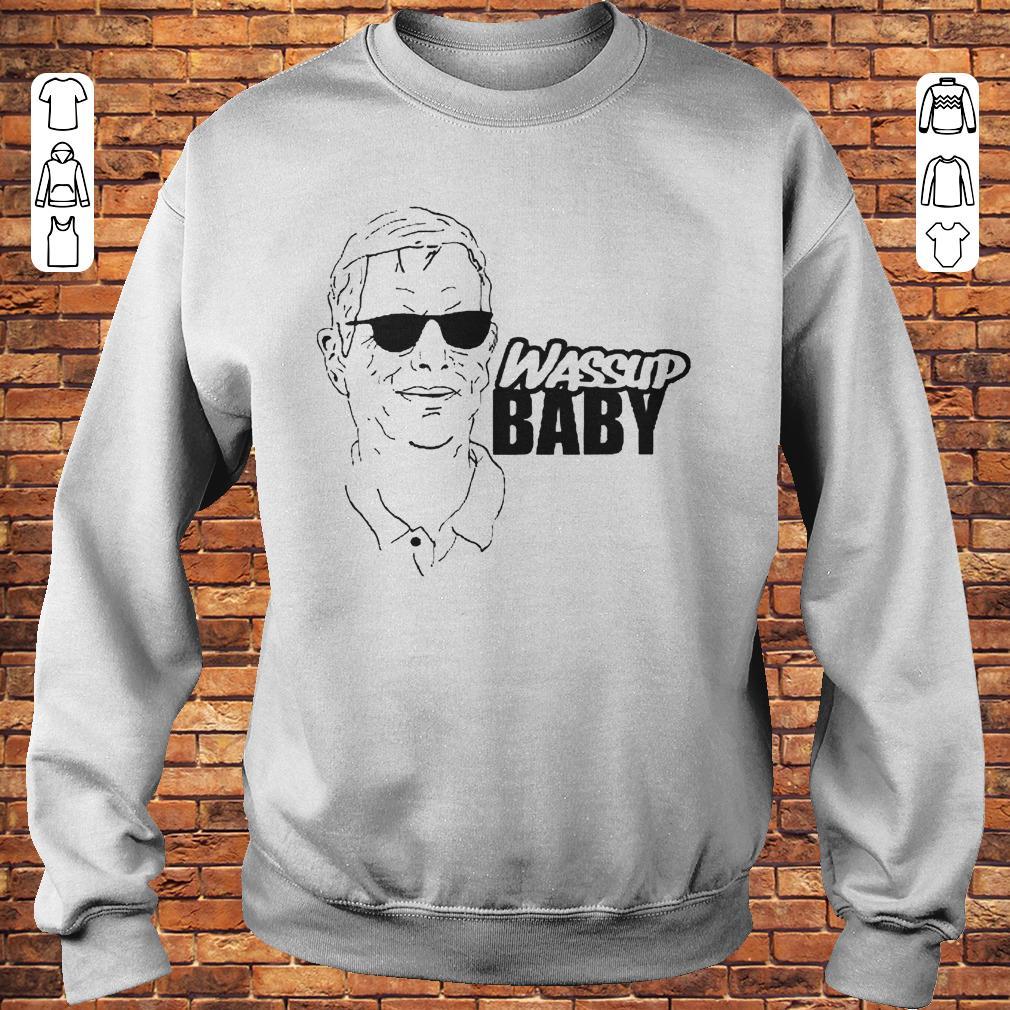 competitive price c4915 81352 Cam Newton OC Norv Turner Wassup Baby shirt