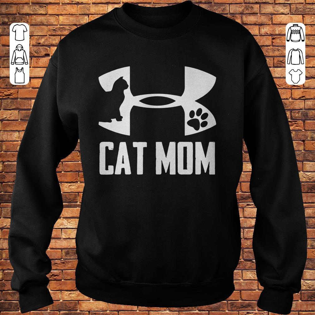 Cat Mom Under Armour shirt