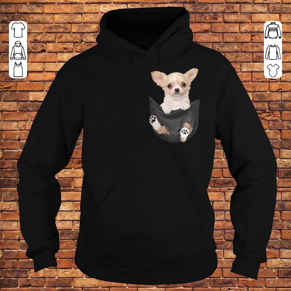 Chihuahua Tiny pocket shirt Hoodie