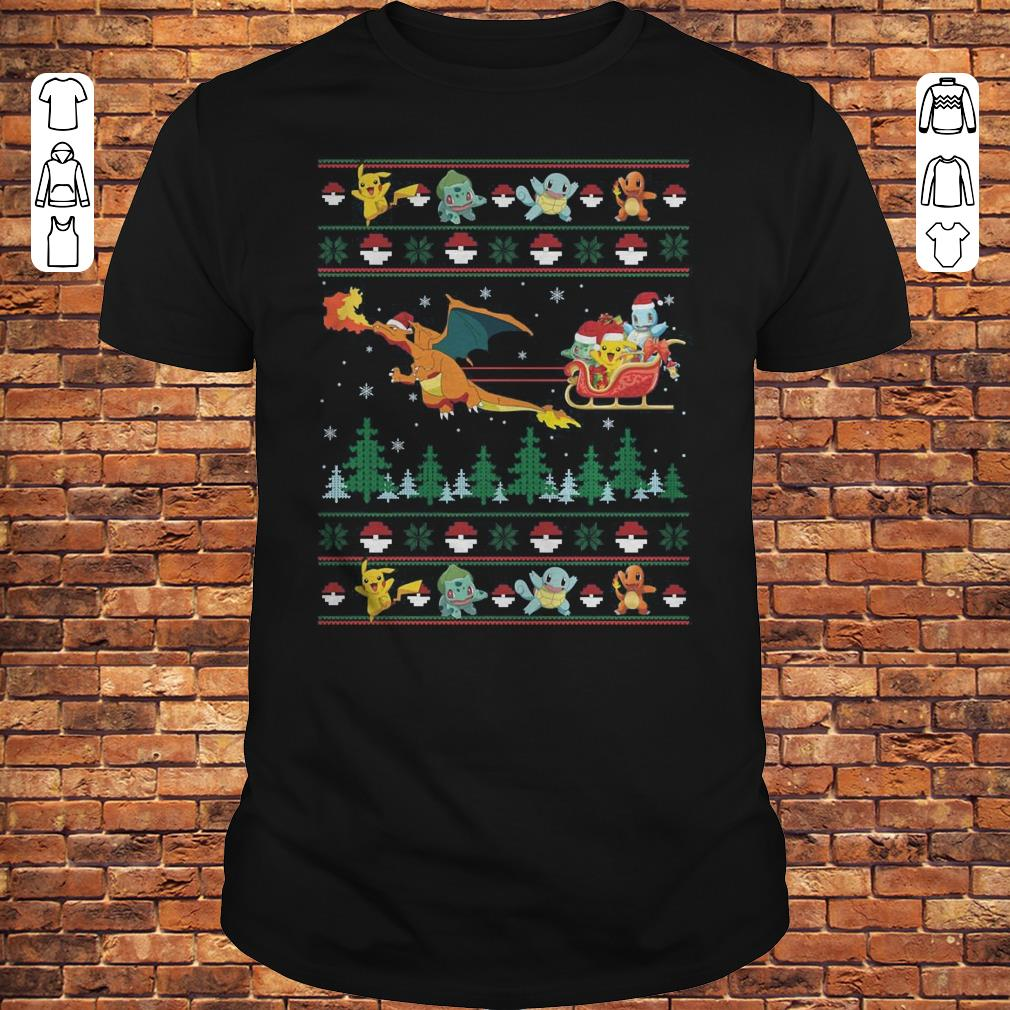 Christmas Pokemon Sweater shirt