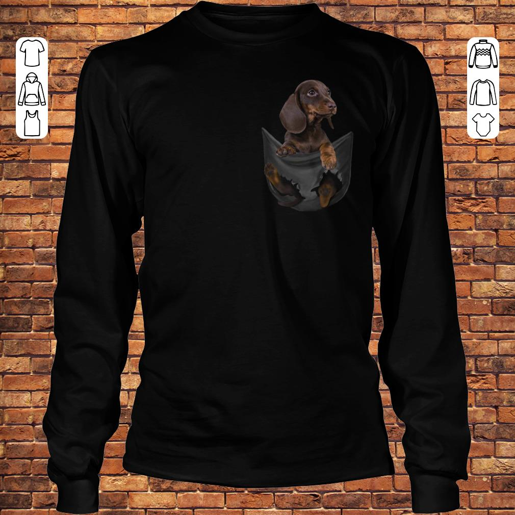 Dachshund Tiny Pocket shirt