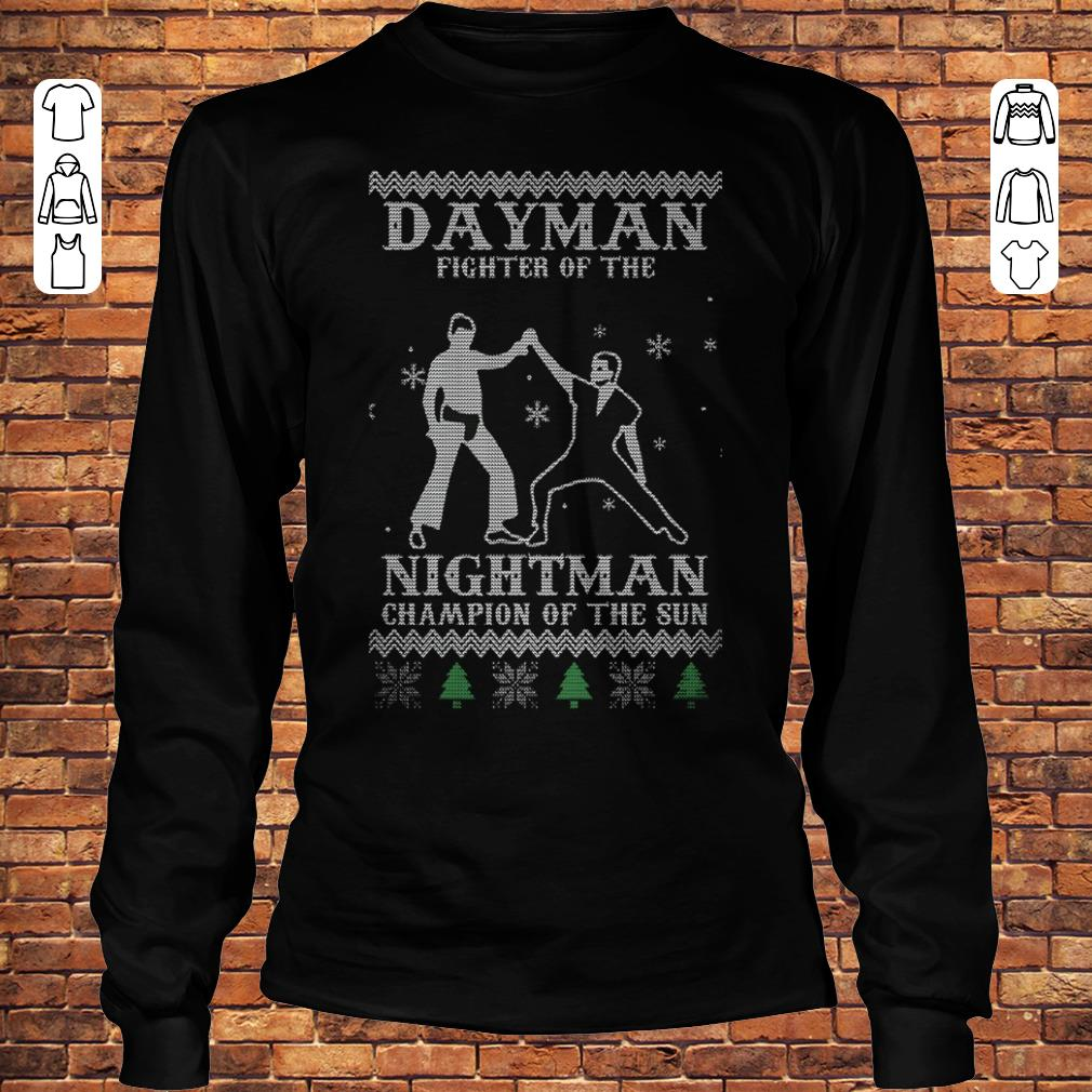 a41eaf56 Dayman fighter of the nightman Champion of the sun shirt Longsleeve Tee  Unisex