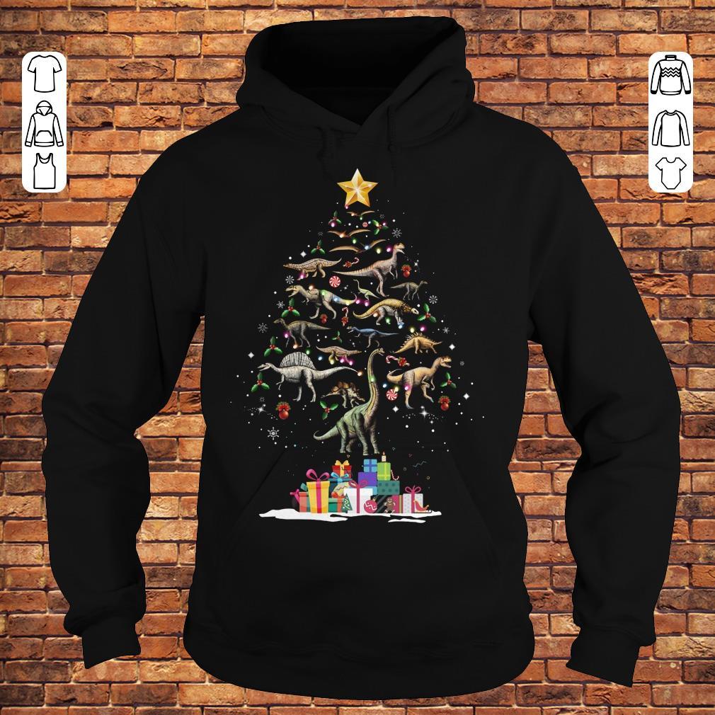 Dinosaurus Christmas Tree shirt