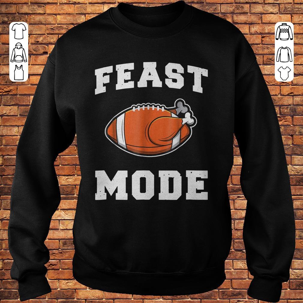 Feast Mode Football Turkey Shirt