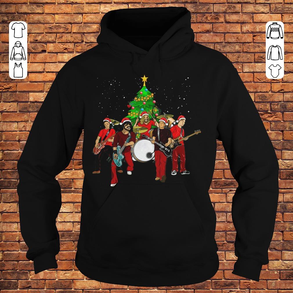 Foo Fighters Christmas Tree shirt