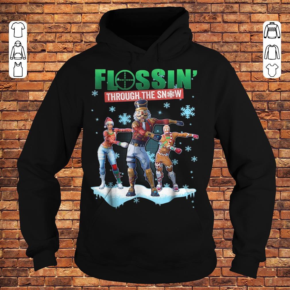 Fortnite Flossin Through the snow shirt