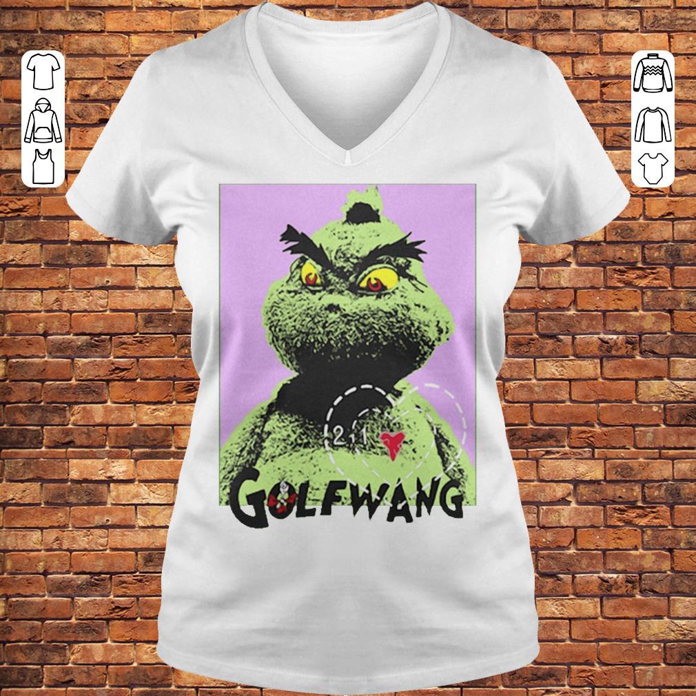 Golf Wang Grinch shirt Ladies V-Neck