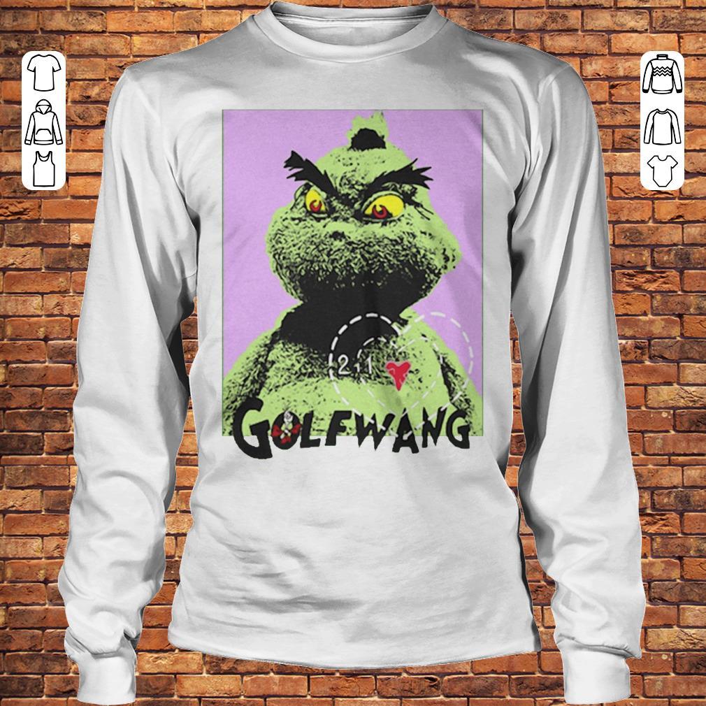 Golf Wang Grinch shirt Longsleeve Tee Unisex