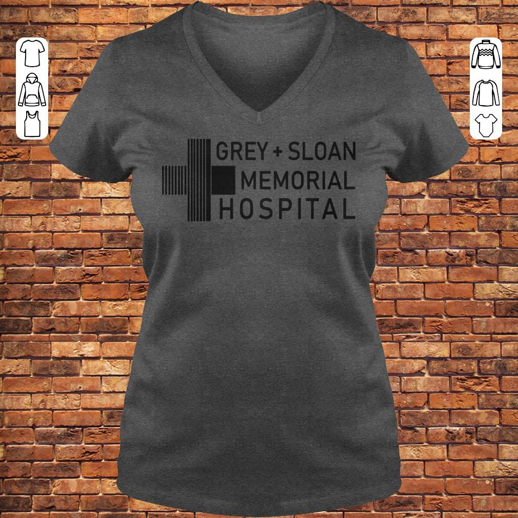 Grey sloan memorial hospital shirt, hoodie Ladies V-Neck