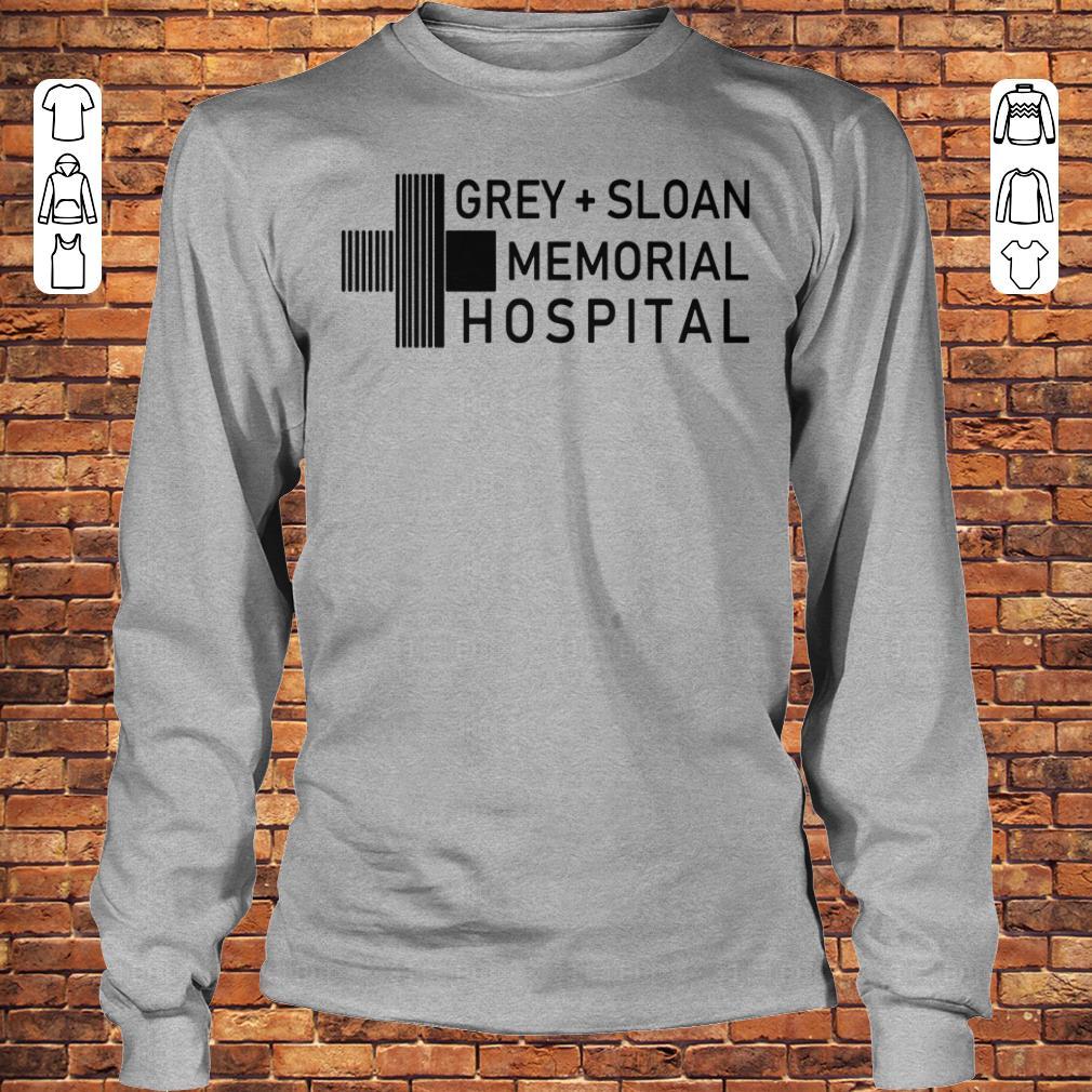 Grey sloan memorial hospital shirt, hoodie Longsleeve Tee Unisex