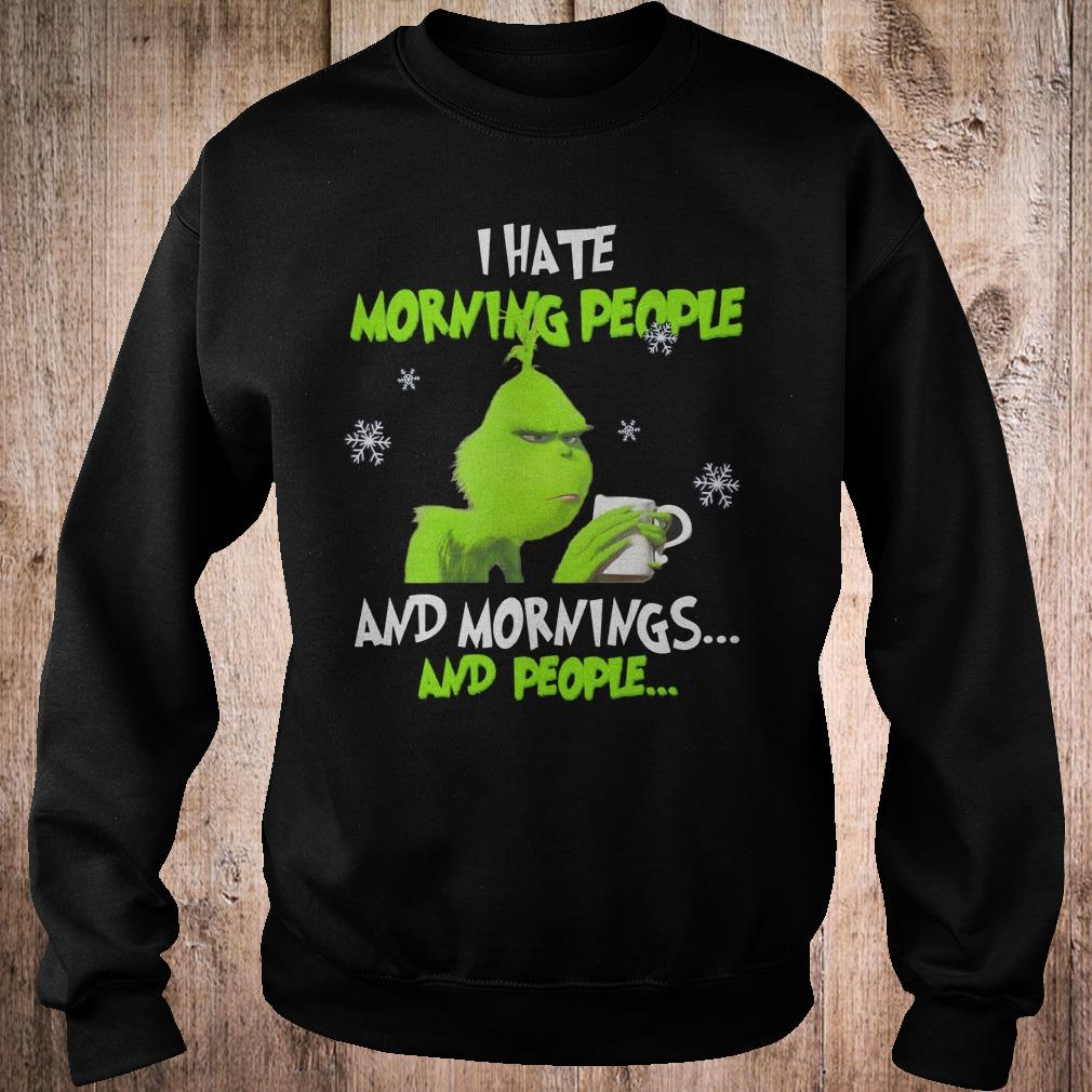 Grinch I want to be a nice person but everyone is just so stupid shirt 3