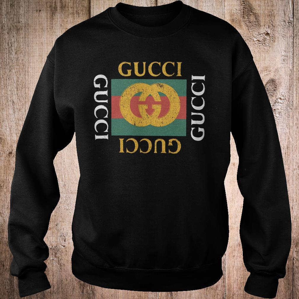 Gucci logo printed shirt 1