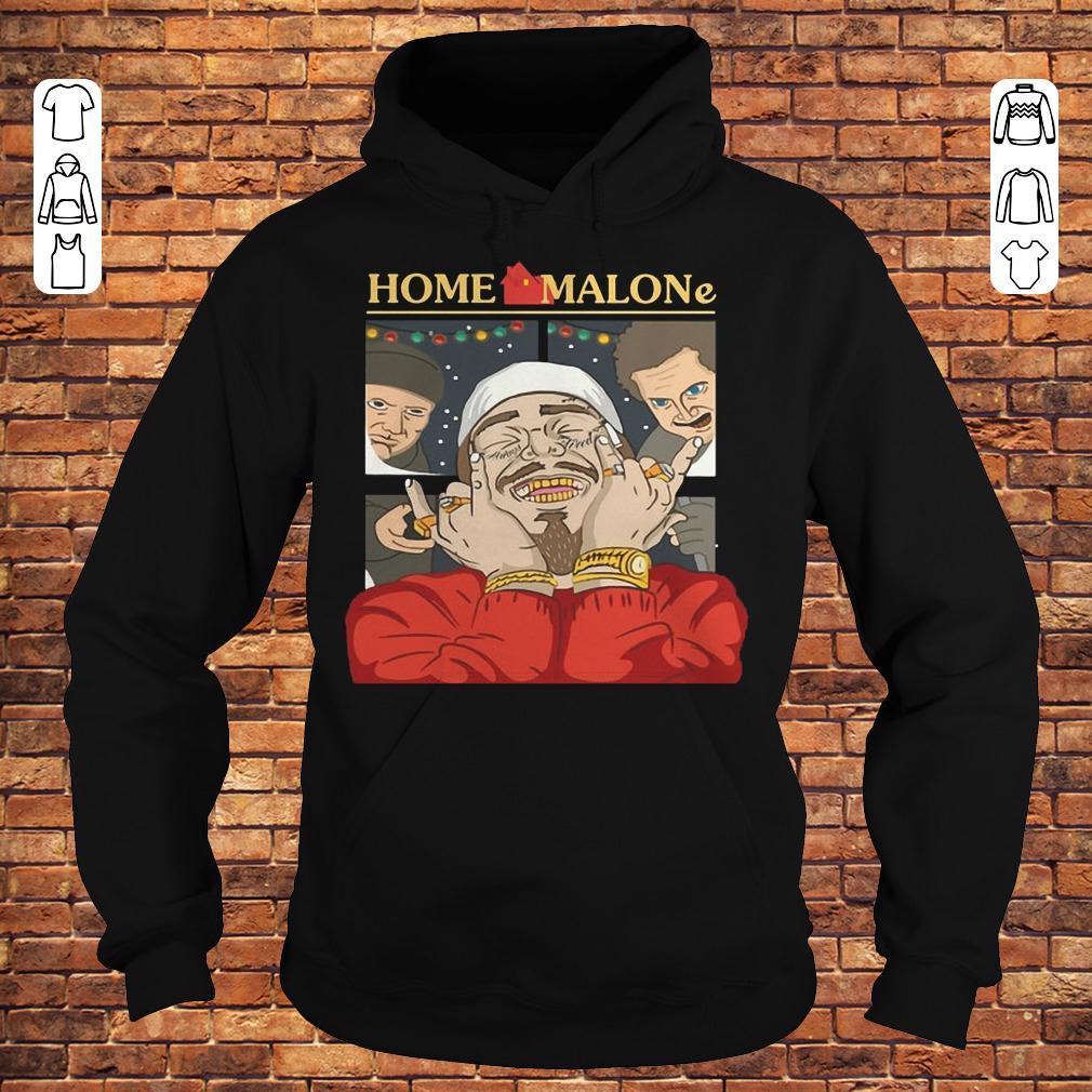 Home Alone and Post Malone Mashup shirt
