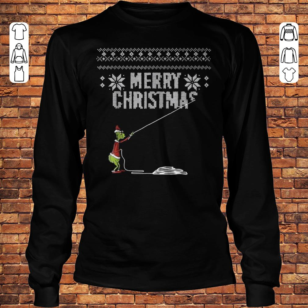 How Grinches Stole Christmas Sweater Shirt Longsleeve Tee Unisex