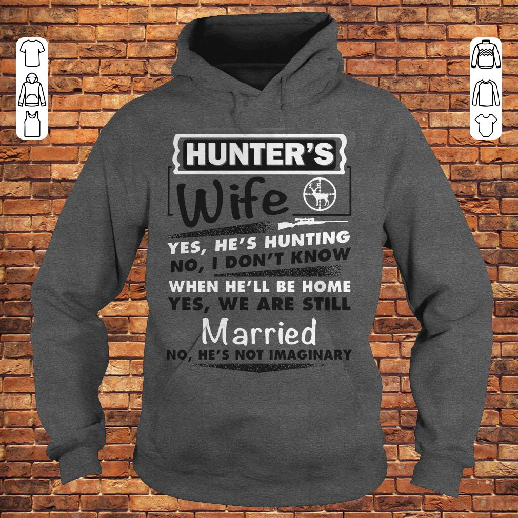 Hunter's Wife Shirt Hoodie