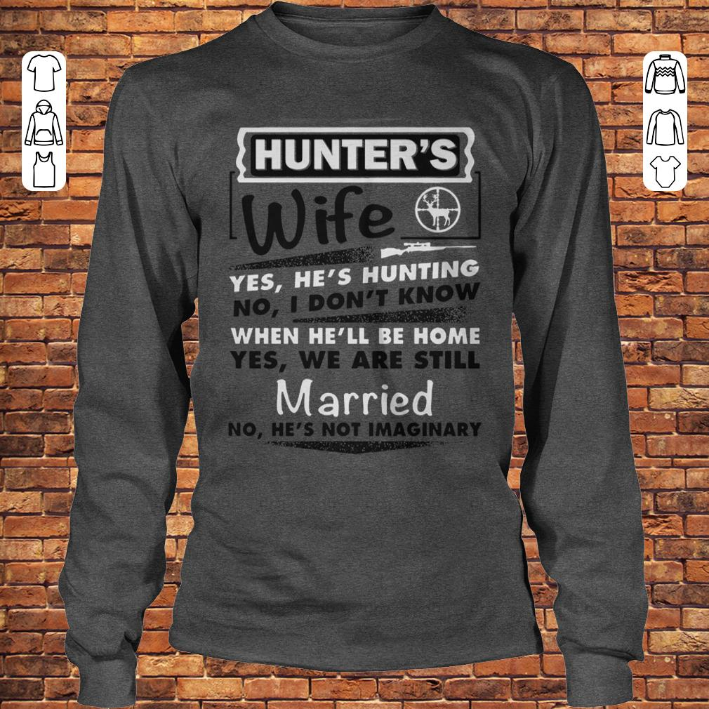 Hunter's Wife Shirt Longsleeve Tee Unisex