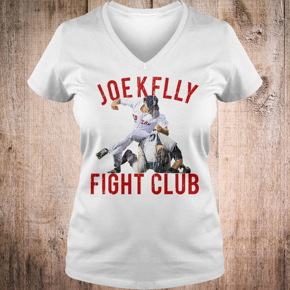 Joe Kelly Fight Boston Baseball Club shirt Ladies V-Neck
