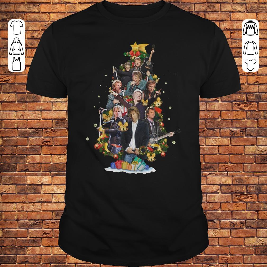 Jon Bon Jovi Christmas Tree shirt 1