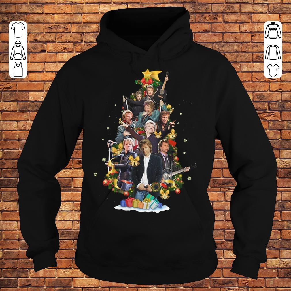 Jon Bon Jovi Christmas Tree shirt Hoodie