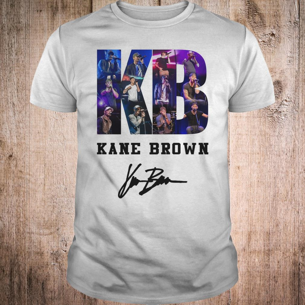 Kane Brown Signed Autograph shirt Classic Guys / Unisex Tee