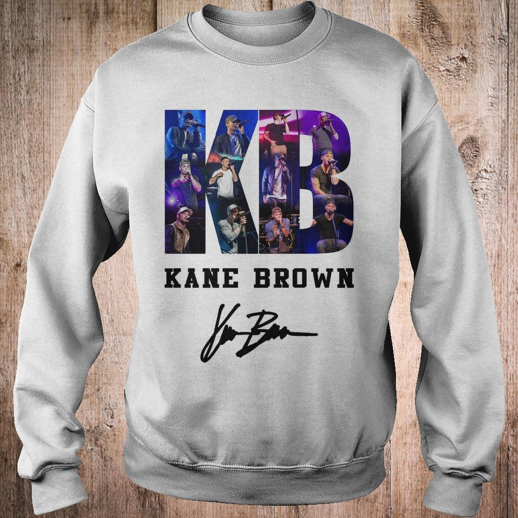Kane Brown Signed Autograph shirt