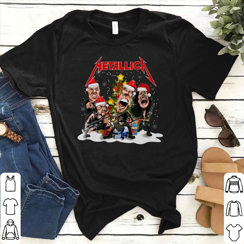 Metallica Christmas tree shirt