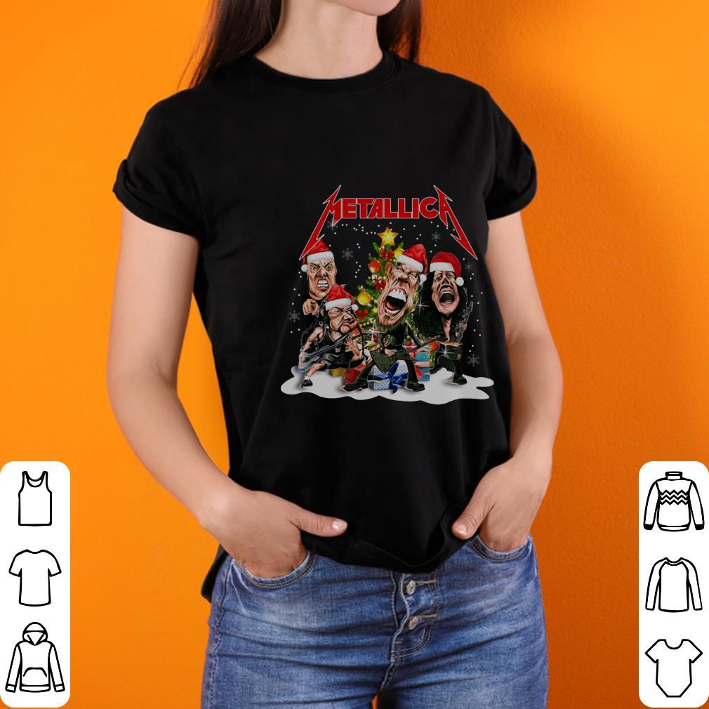 Metallica Christmas tree shirt 2