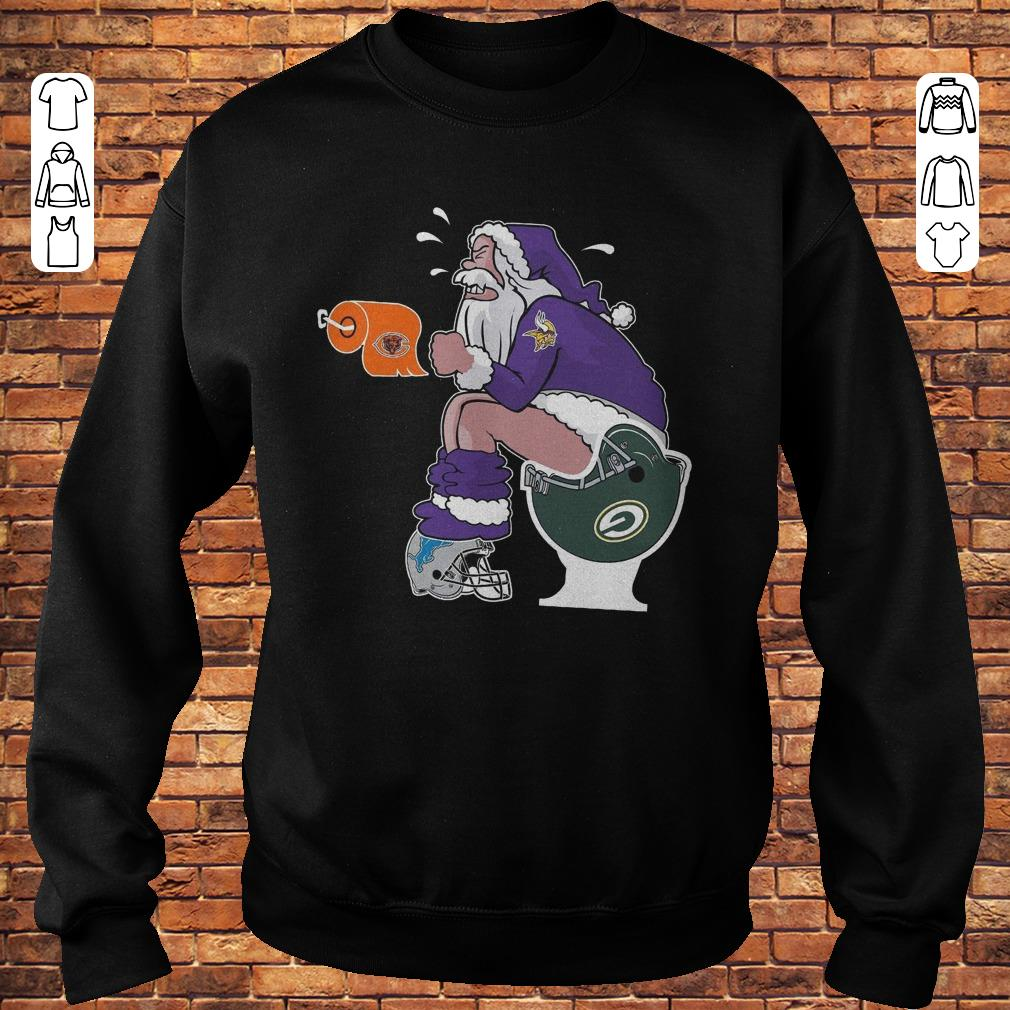 Minnesota Vikings Santa Toilet shirt