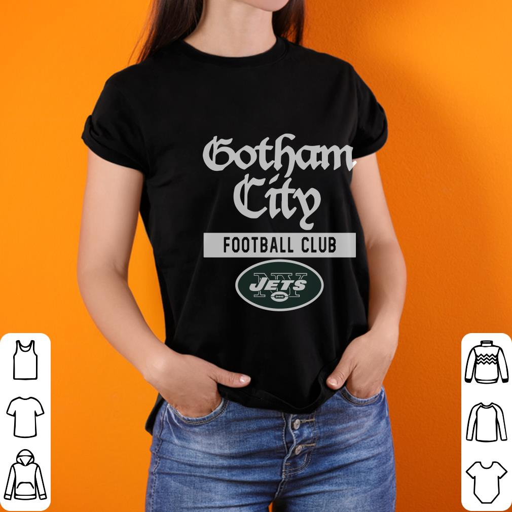 New York Jets Gotham City Football club shirt 2
