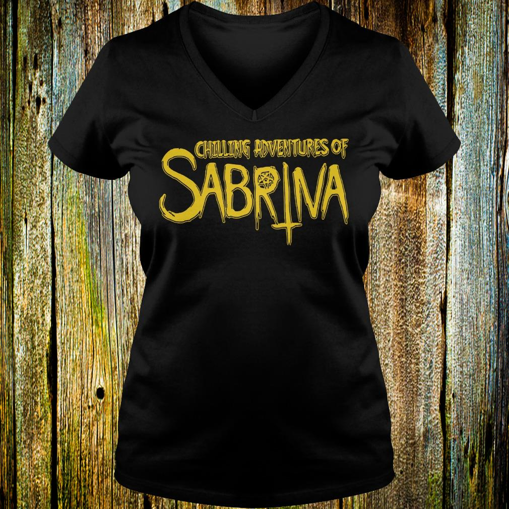 Original Chilling Adventures Of Sabrina shirt Ladies V-Neck