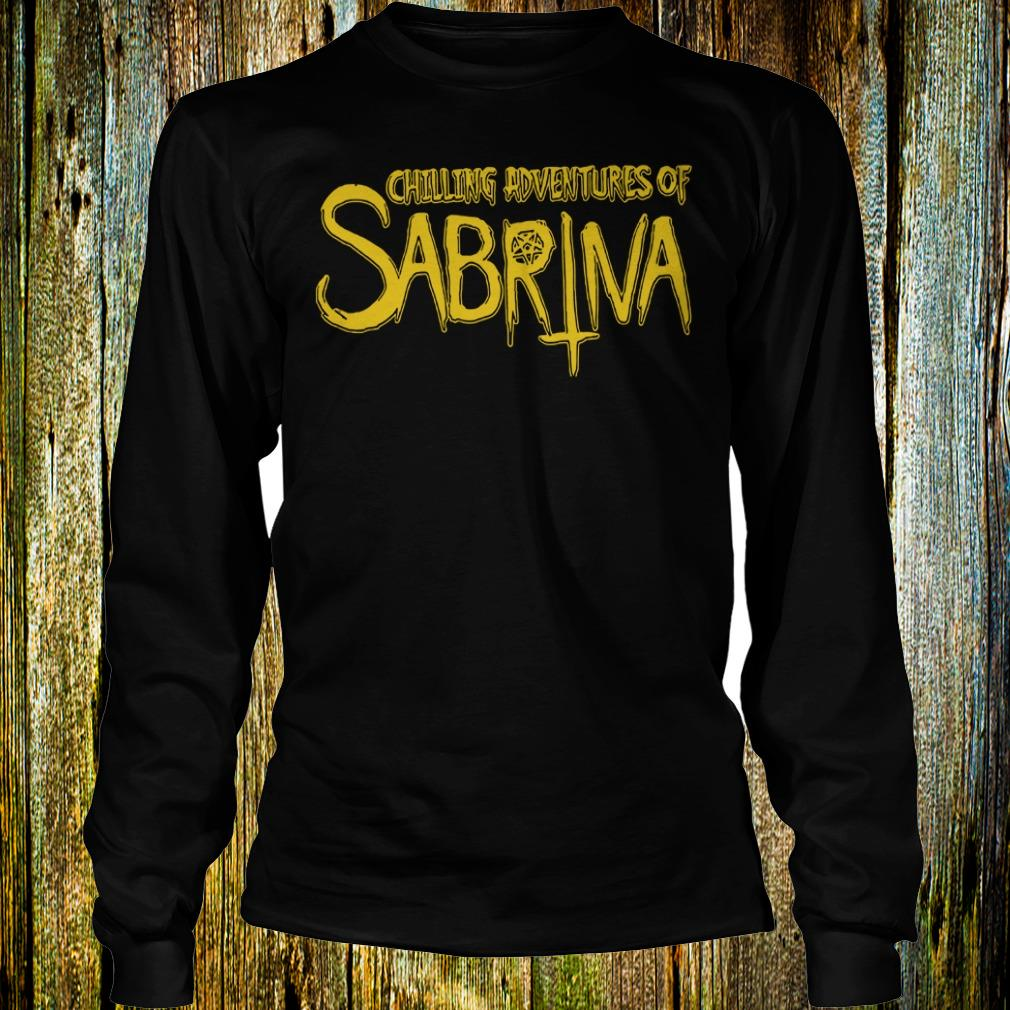 Original Chilling Adventures Of Sabrina shirt Longsleeve Tee Unisex