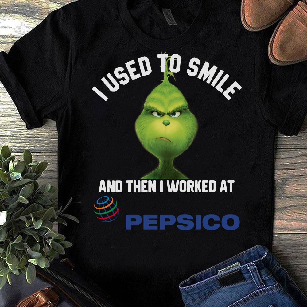 Albertsons Grinch I used to smile and then I worked at Albertsons shirt