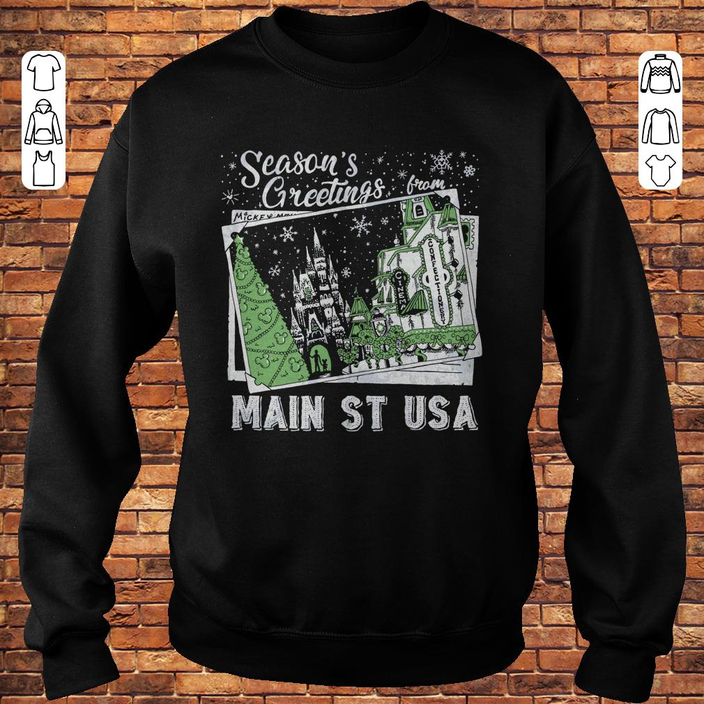 Picture Main St USA Season's Greetings from shirt