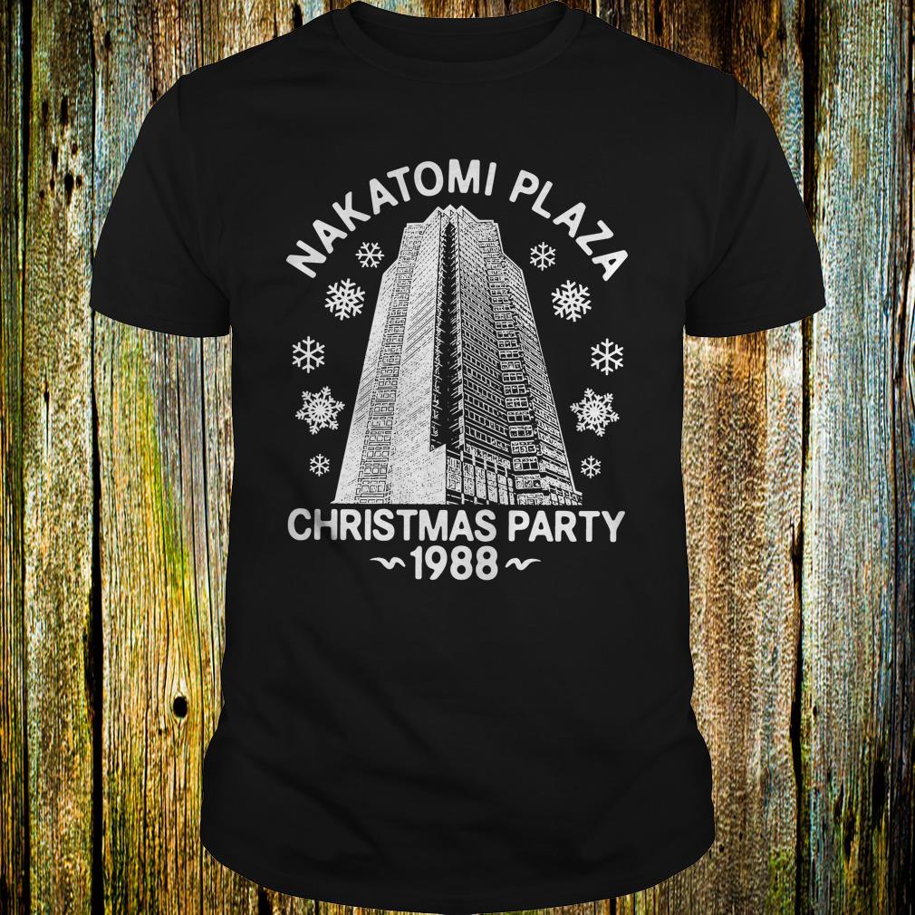 Premium Christmas party nakatomi plaza 1988 shirt
