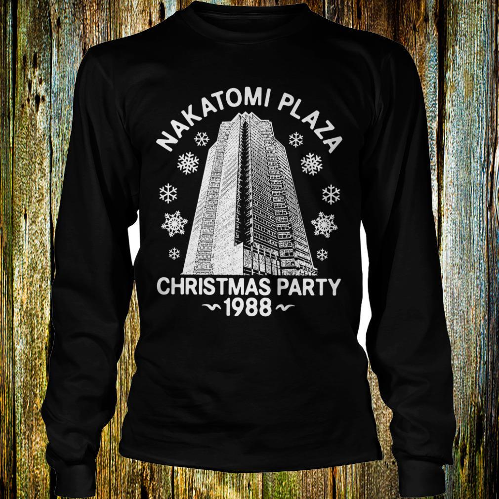 Premium Christmas party nakatomi plaza 1988 shirt Longsleeve Tee Unisex
